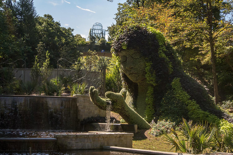 blog.carolineculler.com: Atlanta Botanical Garden | Mosaiculture of ...