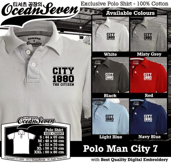 POLO Man City Manchester City 7 Premier League distro ocean seven