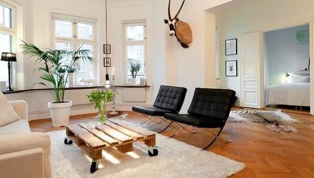 28 kreative palettenm bel ideen zum selber bauen for Rolltisch wohnzimmer