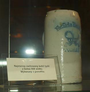 najstarszy zachowany kufel porcelanowy
