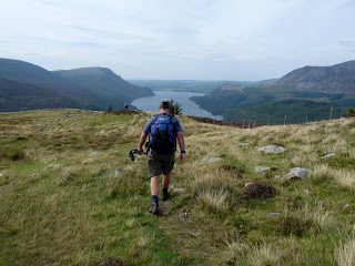 Heading for Ennerdale Water