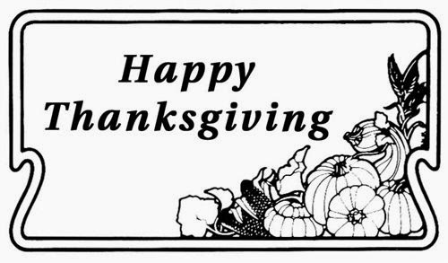 Best Thanksgiving Clipart Black And White