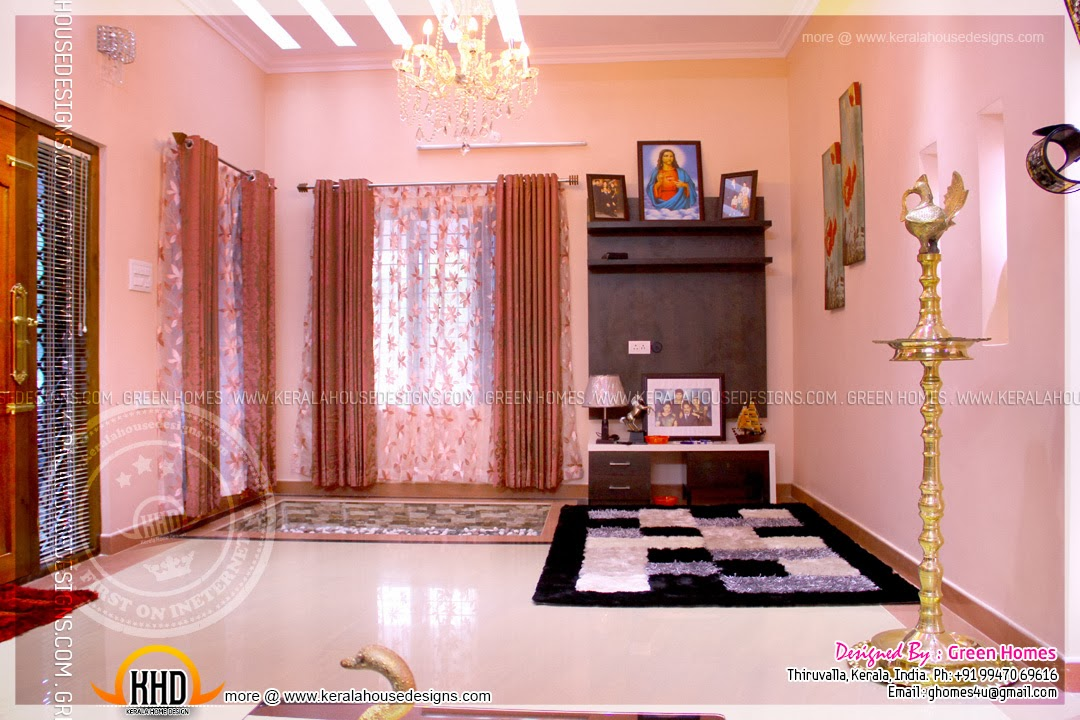 Kerala model house interior