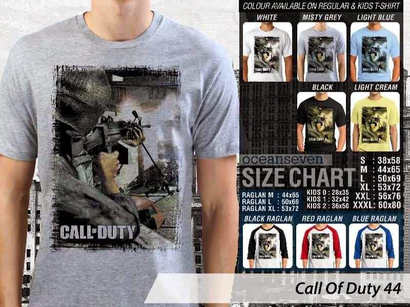 KAOS cod Call Of Duty 44 Game Series distro ocean seven