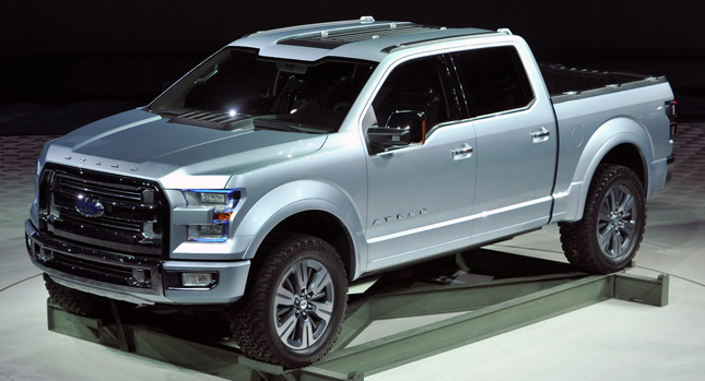 fords new atlas concept envisions the next generation of the f 150 photos video