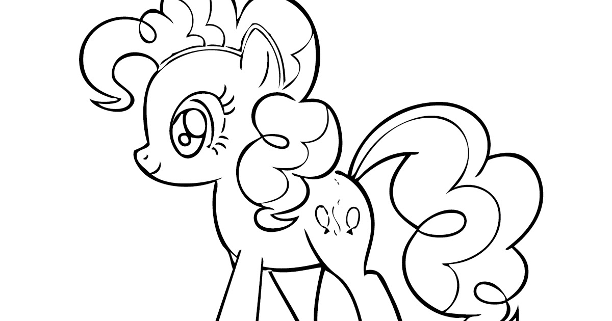 My little pony coloring pages pinkie pie for Coloring pages of pinkie pie