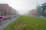 einfach nur in Nebel