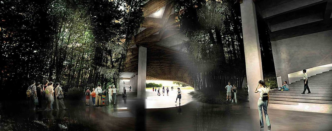 Taichung City Cultural Center by Kamjz Architects