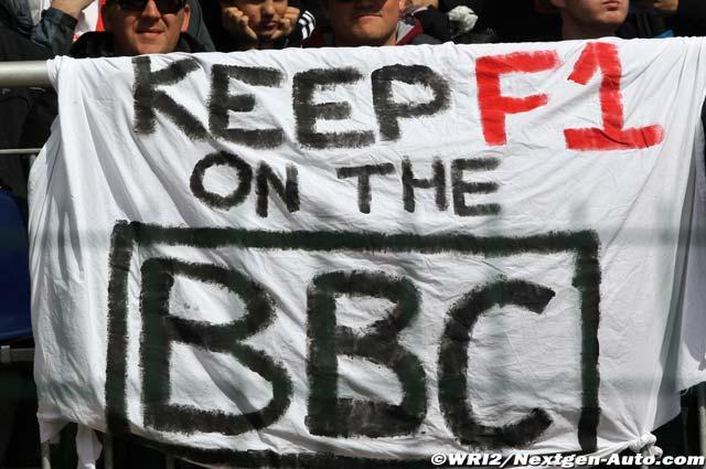 призыв болельщиков в Спа на Гран-при Бельгии 2011 сохранить Формулу-1 на BBC