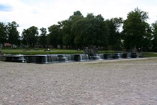 Kaskade pred dvorcem u Ludwiglustu