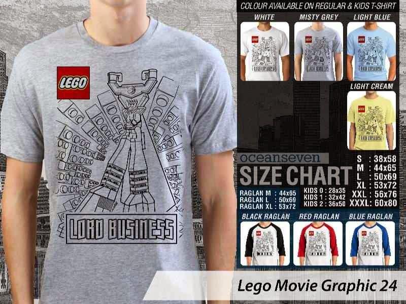 KAOS film lego Lord Business distro ocean seven