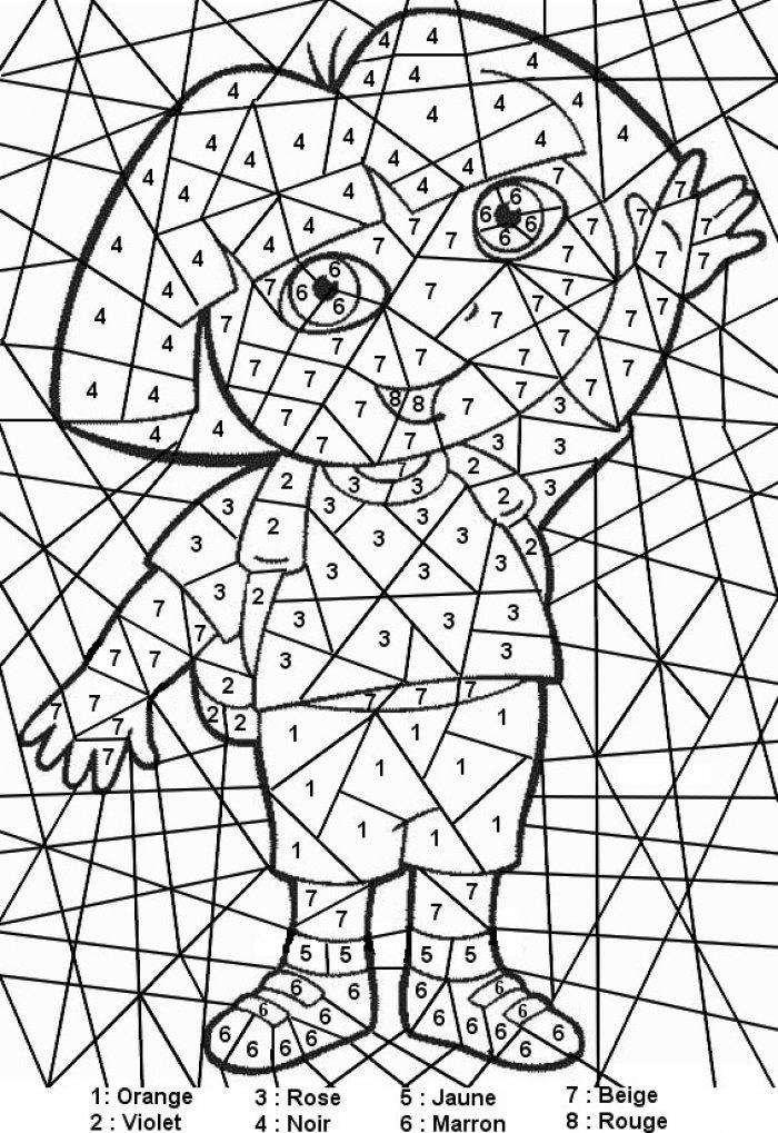 dessin deja colorier a imprimer gratuit