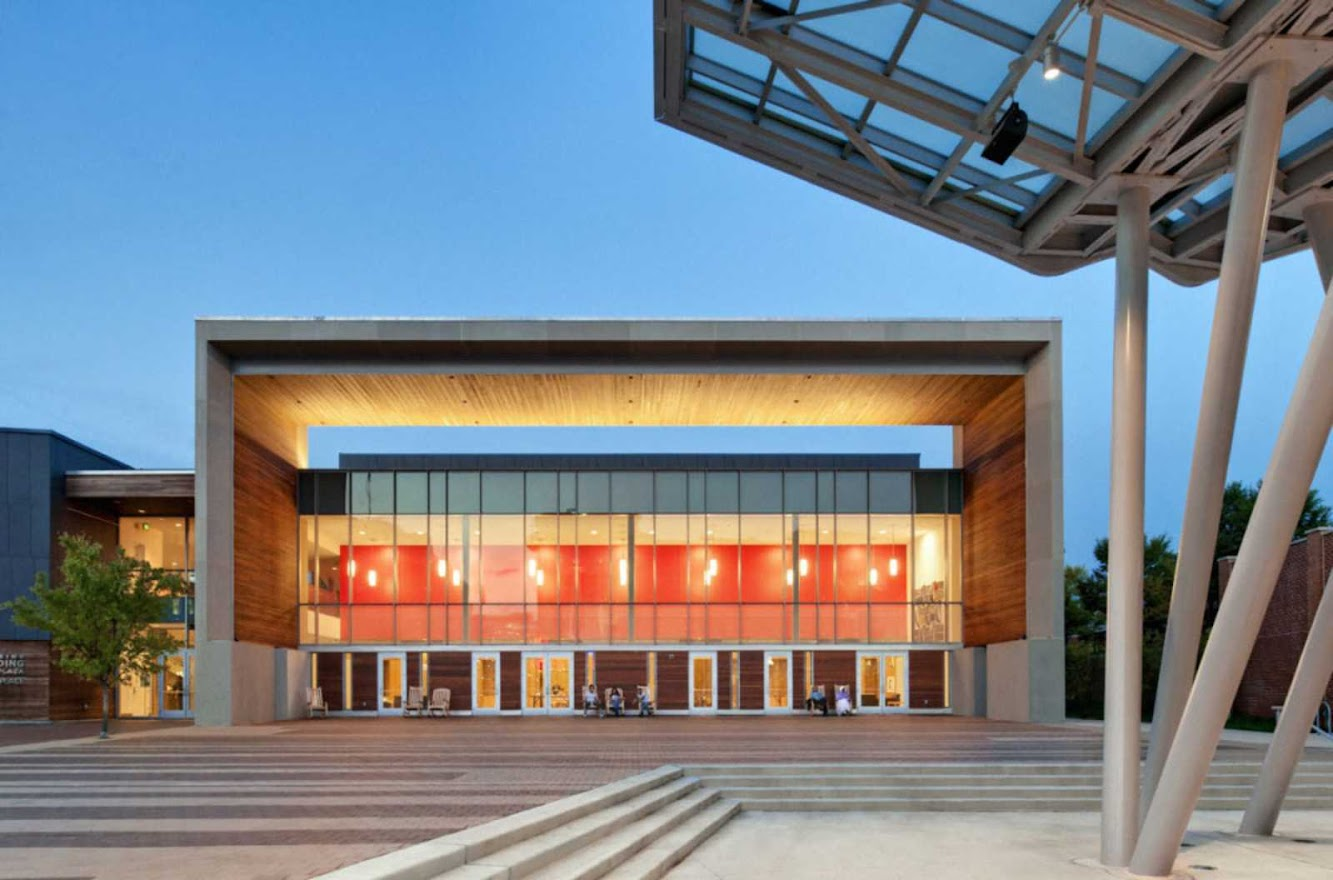 Silver Spring, Maryland, Stati Uniti d'America: Civic Building by Machado And Silvetti