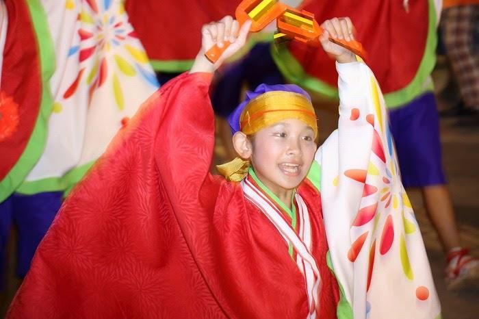 第60回よさこい祭り☆本祭2日目・上町競演場42☆上2目2820