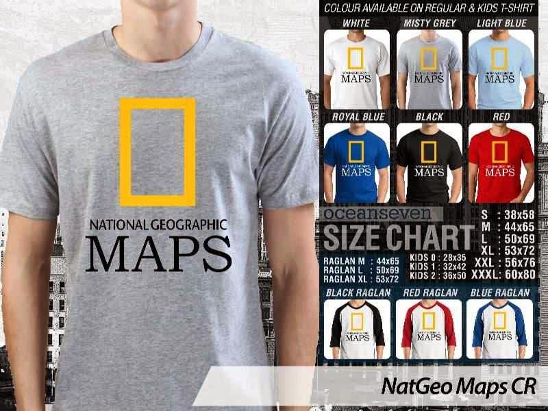 Kaos National Geographic NatGeo Maps distro ocean seven