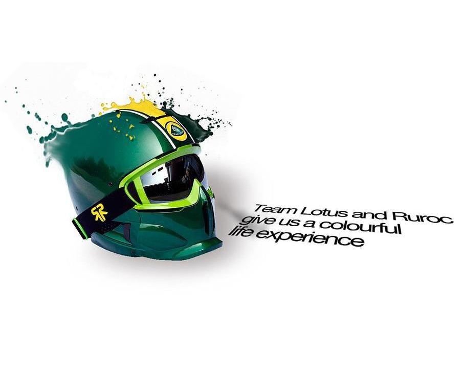 работа на конкурс Ruroc и Team Lotus