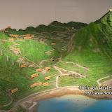 很精緻的礦脈地勢模型。