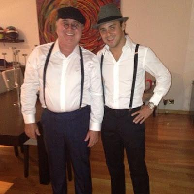 Фелипе Масса вместе с отцом Луисом Антонио Массой