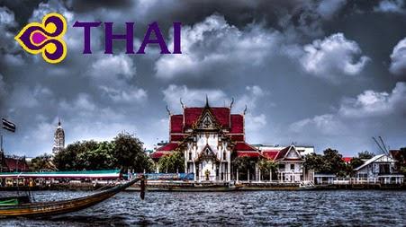 【曼谷機票優惠】泰航-香港飛曼谷來回機位$820起,連稅$1,491。