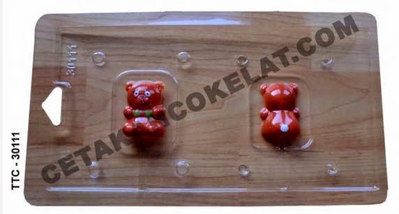 Cetakan Coklat TTC30111 Teddy Bear coklat