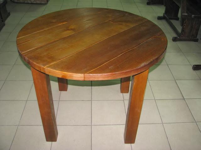 Сделать круглый стол из дерева