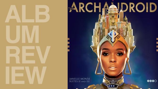 Album review: Janelle Monee - The ArchAndroid | Random J Pop