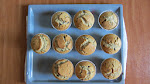 Banana Chocolate Chip Muffins-2