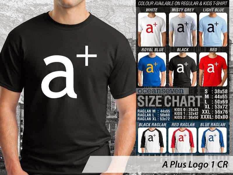 Kaos Magz A Plus Logo 1 Majalah & Media distro ocean seven