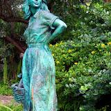 A Statue in Hamilton's Queen Elizabeth Park - West End, Bermuda