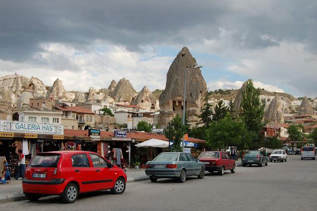 Турция: Город Гереме, автодорога