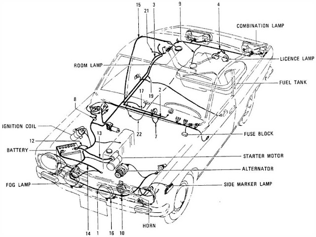 12 Volt Delco Remy Generator Wiring Diagram additionally 2007 Arctic Cat Atv Wiring Diagram together with T C3 A4ndsystem  ottomotor as well 1953 Dodge Truck Wiring Diagram together with Polaris Ranger Xp 700 4x4 Rear Differential Solenoid Circuit Diagram. on datsun truck 320 generator circuit and wiring diagram