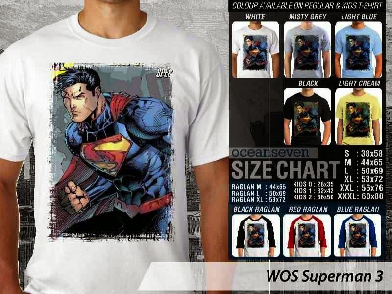 KAOS superman 3 Movie Series distro ocean seven