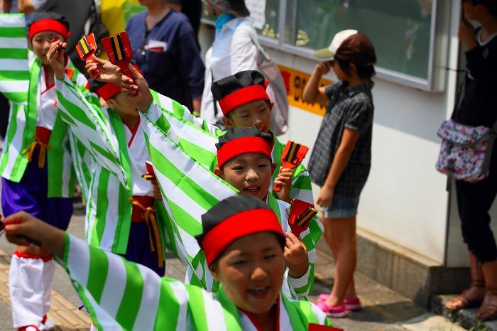第59回よさこい祭り☆本祭1日目・上町競演場173☆上1目1116