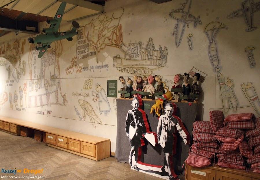 muzeum powstania warszawskiego - sala małego powstańca