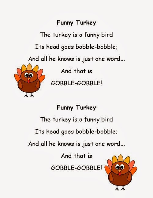 Meaning Thanksgiving Short Poems For Kids - Free Quotes, Poems ...