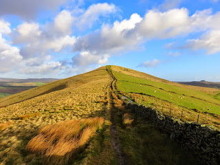 Walking Back To Back Tor As The Sun Comes Out Again