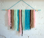 Easy textured wall hanging
