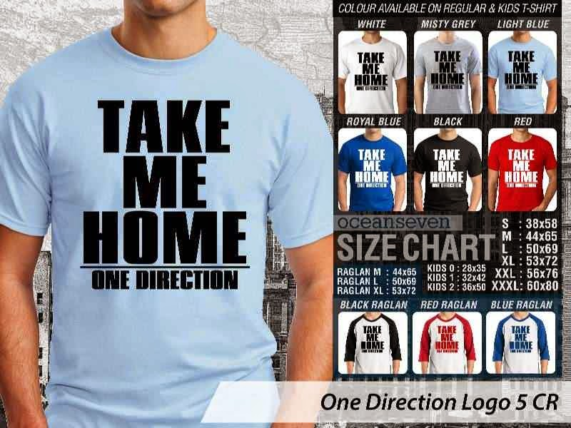 Jual kaos 1D One Direction 24 Musik Boy Band