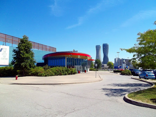 Playdium Amusement Center, 99 Rathburn Rd W, Mississauga, ON L5B 4C1, Canada, Amusement Center, state Ontario