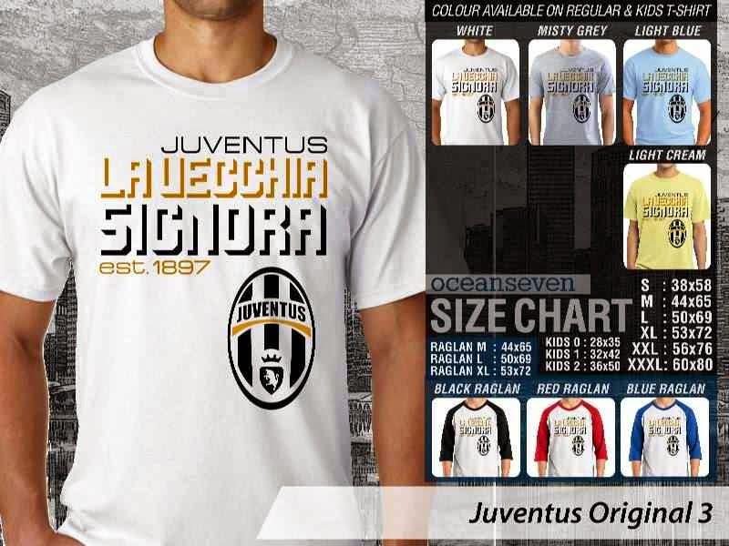 Kaos Bola Juventus 26 Logo Klub Bola distro