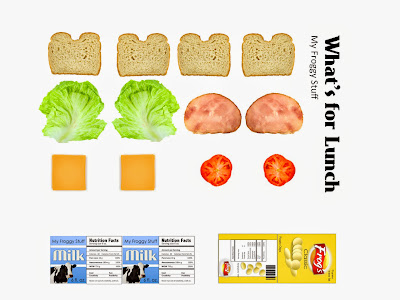 Bright image for american girl doll printable food