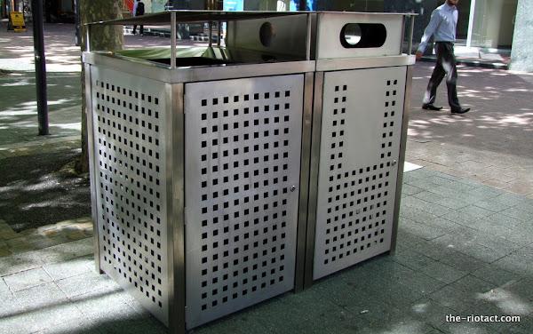 new bins