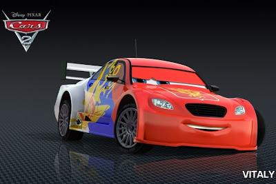 Vitaly Petrov Cars 2 character