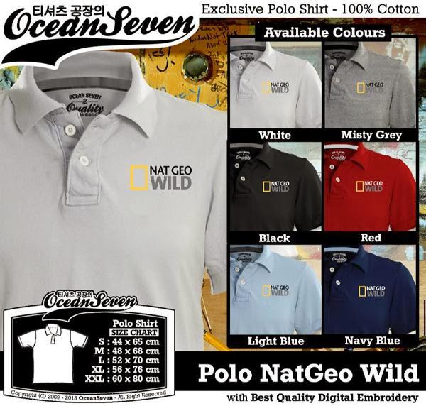 POLO National Geographic Natgeo Wild distro ocean seven