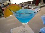 Oh blue wave martini, you never fail me