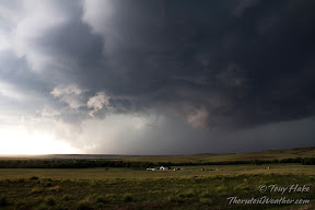 A massive storm churns near Simla, Colorado on Thursday, July 7, 2012. See more photos in the slideshow below.