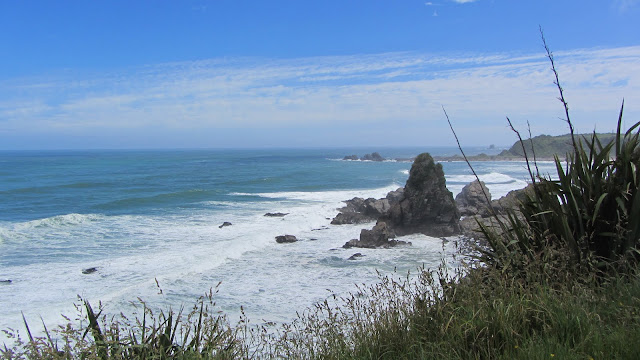 A typical section of the barren west coast on New Zealand's South Island.