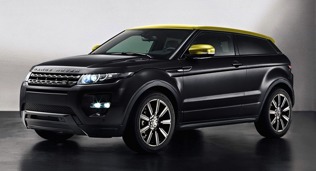 new range rover evoque sicilian yellow limited edition model. Black Bedroom Furniture Sets. Home Design Ideas
