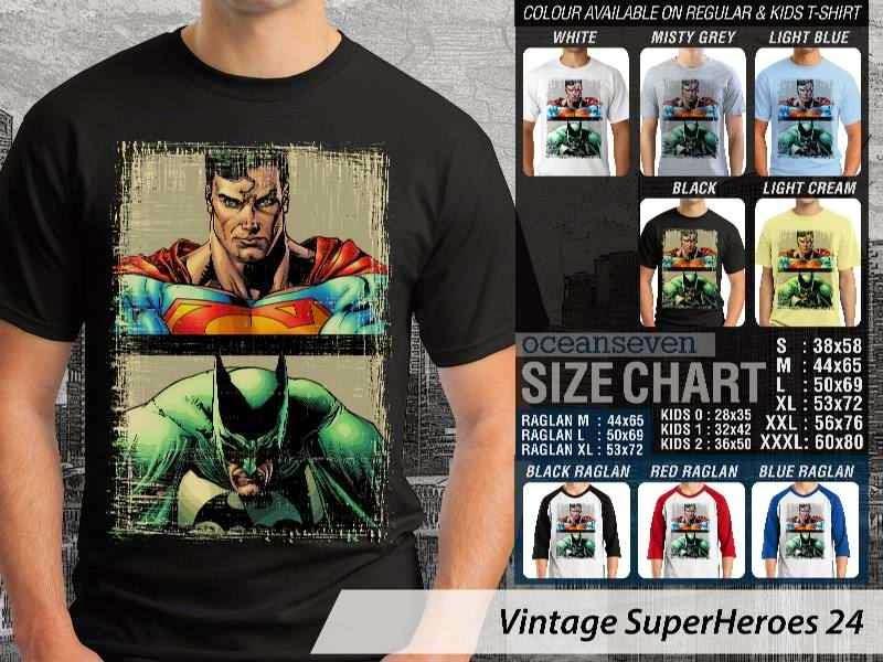 KAOS Superman Batman Vintage distro ocean seven