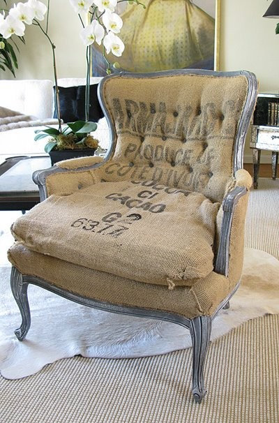 some of my favorite burlap projects and a $25 burlap giveaway to go with them